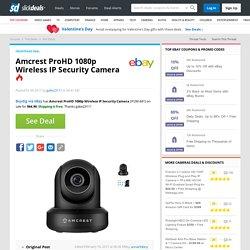 Amcrest ProHD 1080p Wireless IP Security Camera