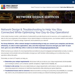 Wireless Network Design Services & Solutions for Business Pro Group Networks