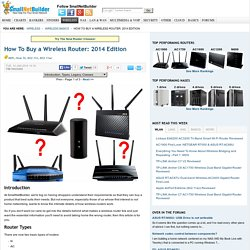 How To Buy a Wireless Router: 2014 Edition
