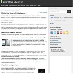 Using Wireless and Mobile Technology in the Classroom