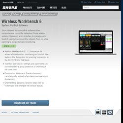Wireless Workbench 6 Desktop Wireless Control App