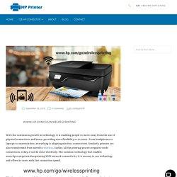 www.hp.com/go/wirelessprinting - Wireless Printing from Laptop, Phone etc