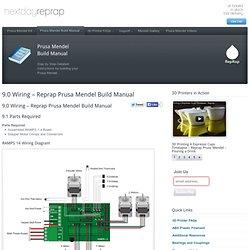 9.0 Wiring - Reprap Prusa Mendel Build Manual - Nextday Reprap - Instructions