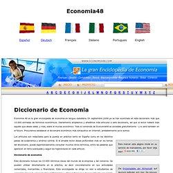 Enciclopedia y Diccionario de Economía - Wirtschaftslexikon