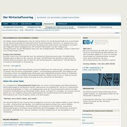 Verlagsbereich Gastronomie & Handel - www.wirtschaftsverlag.at