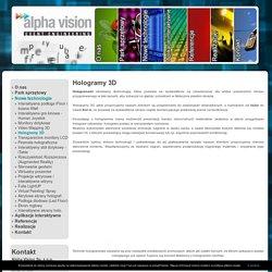 Wirtualna postać 3d, wyświatlacze holograficzne, hologramy 3d człowieka - Alpha Vision