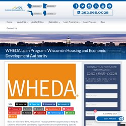 WHEDA Mortgage Requirements
