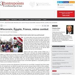 Wisconsin, Égypte, France, même combat
