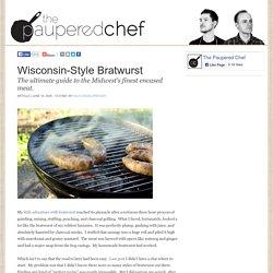 Wisconsin-Style Bratwurst
