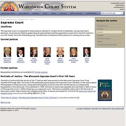 Wisconsin Court System - Supreme Court Justices