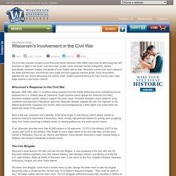 Wisconsins Involvement in the Civil War