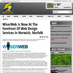 WiserWeb Is Now At The Forefront Of Web Design Services In Norwich, Norfolk