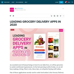 LEADING GROCERY DELIVERY APPS IN 2020: wishboxapp — LiveJournal
