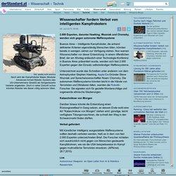Wissenschafter fordern Verbot von intelligenten Kampfrobotern - Technik