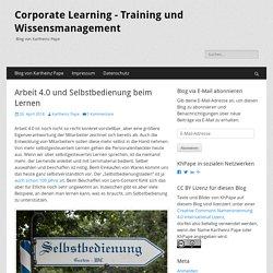 Corporate Learning - Training und Wissensmanagement