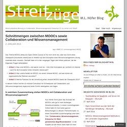 Schnittmengen zwischen MOOCs sowie Collaboration und Wissensmanagement «