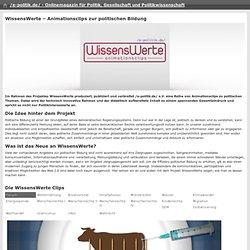 /e-politik.de/ » WissensWerte- Animationsclips zur politischen Bildung