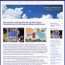 Wissenswertes und Infos für alle, die beim Thema Chemtrails noch Zweifel haben - sauberer-himmel.de