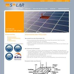 Wissenswertes zu Photovoltaik