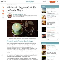 Witchcraft: Beginner's Guide to Candle Magic