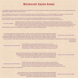 WitchCraft Magic Books