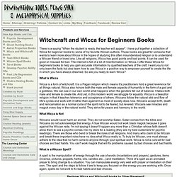 Witchcraft and Wiccan for Beginners Book