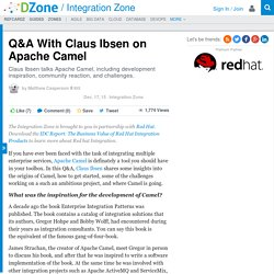 Q&A With Claus Ibsen on Apache Camel