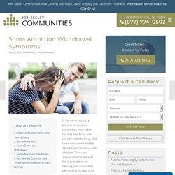 soma withdrawal