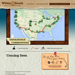 Within Reach - Sustainable Communities