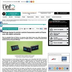 Withings équipe le premier contrat d'assurance santé en France avec des objets connectés