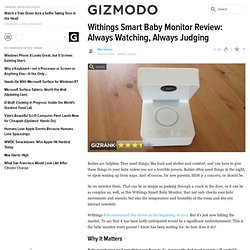 Withings Smart Baby Monitor Review: Always Watching, Always Judging