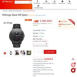 Đồng hồ theo dõi sức khỏe Withings Steel HR Sport Hybrid