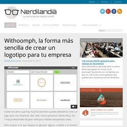 Withoomph, la forma más sencilla de crear un logotipo para tu empresa