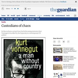 A Man Without a Country by Kurt Vonnegut | Books