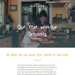 Our Year without Groceries