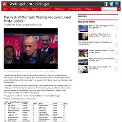 Pauw & Witteman: Weinig vrouwen, veel PvdA-politici