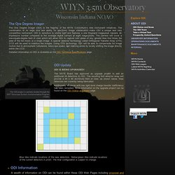 3.5m Observatory - One Degree Imager