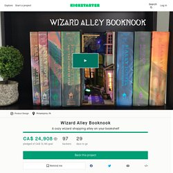 Wizard Alley Booknook by Techarge LLC