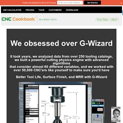 G-Wizard Calculator: Fast, Reliable, Easy Feeds and Speeds