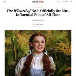The Wizard of Oz Is Officially the Most Influential Film of All Time