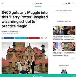 Real wizard school inspired by Harry Potter - INSIDER