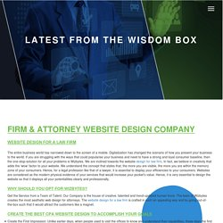 How to rank a website for an attorney firm??? - wizbytes company - Medium