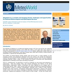 Newsletter: MeteoWorld
