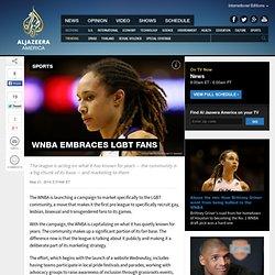 WNBA embraces LGBT fans