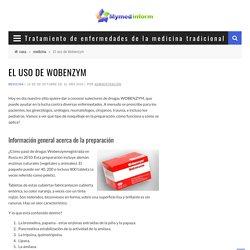 Wobenzym, manual de instrucciones