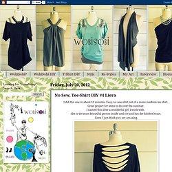 No Sew, Tee-Shirt DIY #4 Liera