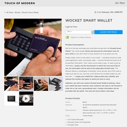 Wocket Smart Wallet - Wocket