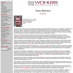 Wohlers Associates - Terry Wohlers