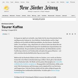 Wohlstand (20/20): Teurer Kaffee - Wohlstand Nachrichten