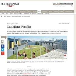 Wohnungsbau in Wien: Das Mieter-Paradies - Sonntag
